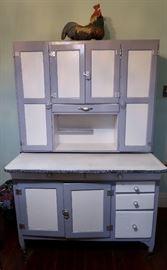 Vintage Kitchen Hutch Cabinet