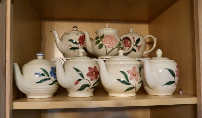 Vintage Tea Pot Collection - USA