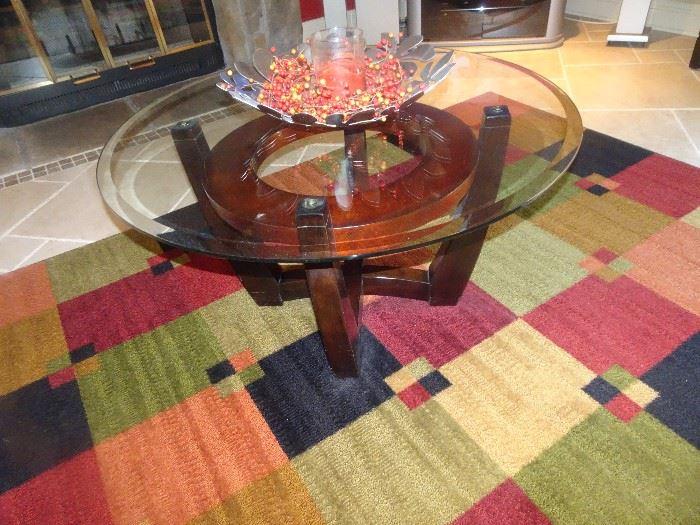 Raymour & Flanigan Atomic Coffee Table