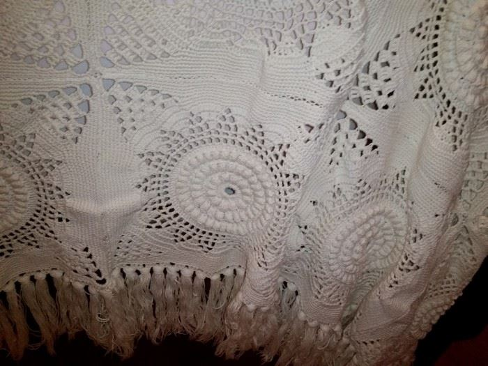 A closer look at the bedspread