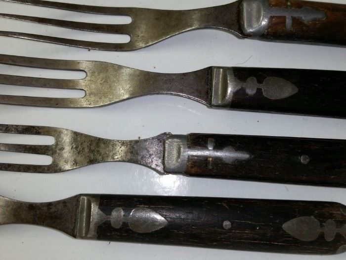 Forks from around the time of the Civil War