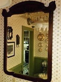 Beautiful antique framed mirror