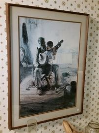 Henry Ossawa Tanner's 'The Banjo Lesson'