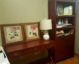 Matching Desk and Bookcase