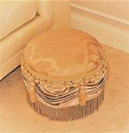 ONE OF SEVERAL DECORATIVE STOOLS