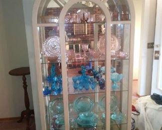 Stunning Tall Curio Cabinet