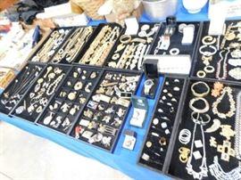 Estate costume jewelry