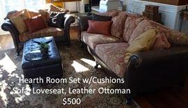 Hearth Room Furniture Set