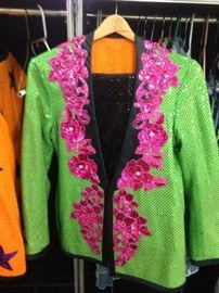 Unisex Custom Reversable Handmade Groovy Sequin 1960s Style Suit like  Austin Powers.
