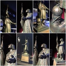 Custom Reproduction of Central Park Christopher Columbus Statue by Gaetano Russo.