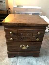 Night Stand with 2 draws.