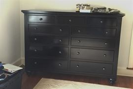 "Restoration Hardware Camden 11 Drawer Dresser with cedar drawers 72"" wide"