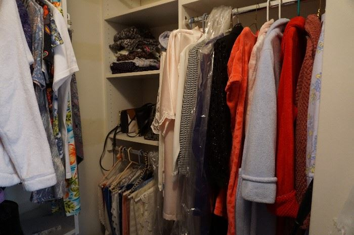 robes, dresses small