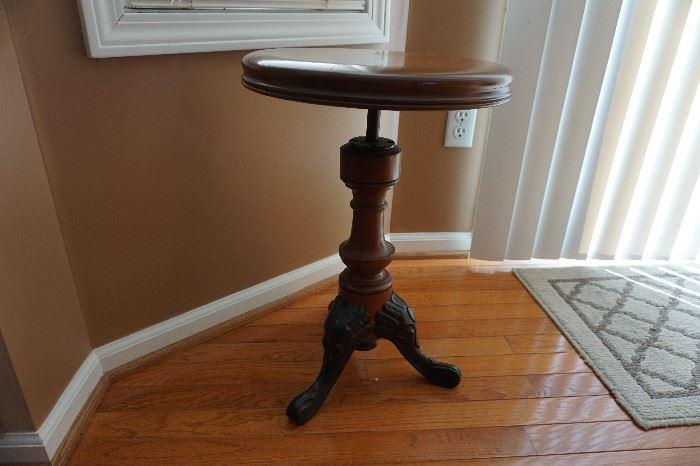 reptoduction piano stool stationary