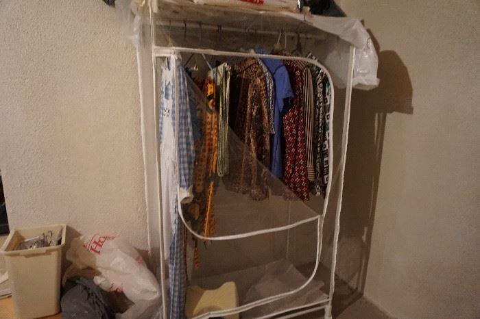 clothes storage rack
