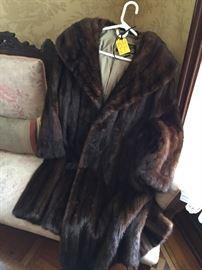 It is cold here in Medina NY.  Women's knee length coat