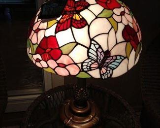 Dale Tiffany Butterfly Lamp