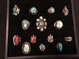 Native American rings