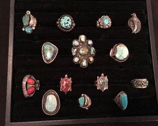 Native American rings