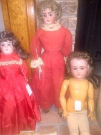 German and French Antique Dolls