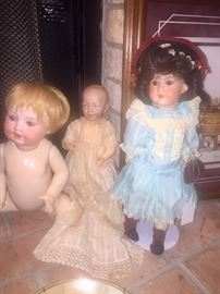 French and German Antique Dolls