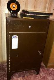 Vintage metal cabinet
