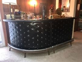 "Vintage bar - 2 pc, Approx  3'3"" h  X   3'2"" per section"