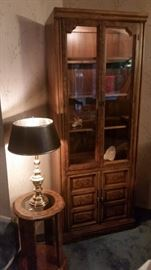 One of several hutch/china cabinets.