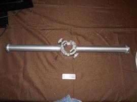 Custom Pole Accessorie for Large Studio Shelvings..
