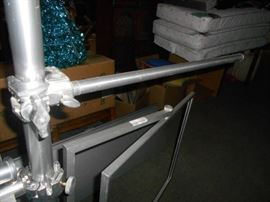 Custom Pole Accessories for Large Studio Shelving ...
