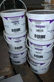 6 Pails of New NonSanded Grout for Tile