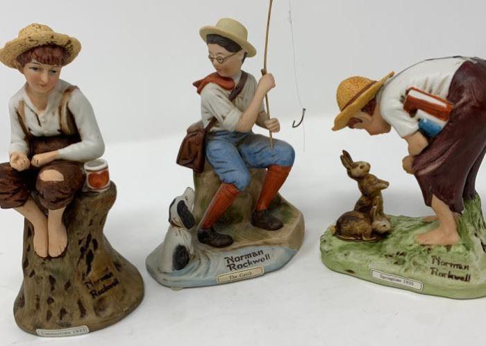 Norman Rockwell 3 piece Figures https://ctbids.com/#!/description/share/103110