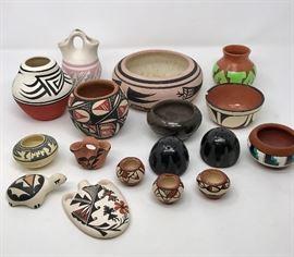 Native American Pottery Collection https://ctbids.com/#!/description/share/103639
