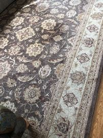One of several beautiful rugs