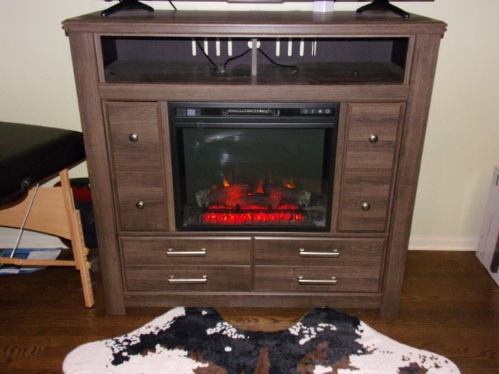Fireplace/entertainment center