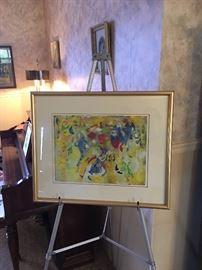 Joe Downing Original Watercolor