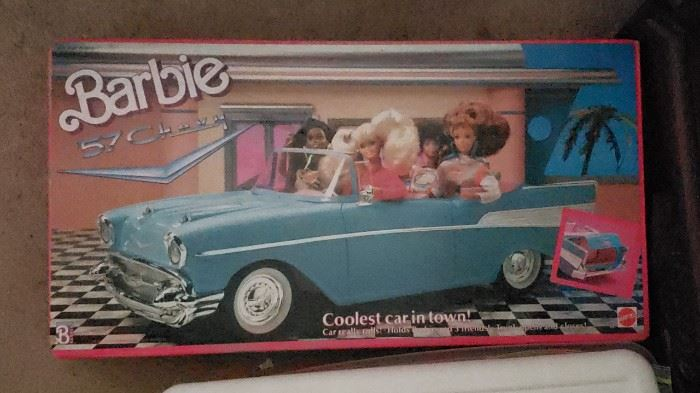 Barbie 57 Chevy Convertible (1989) Never opened