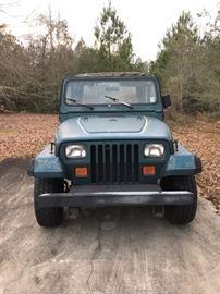 1995 Jeep Runs 134,008 Miles.