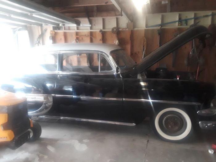 Nice & in driving condition 1954 Bel Air 2 Door Hard Top, garage kept! Original interior! Standard on the Column.