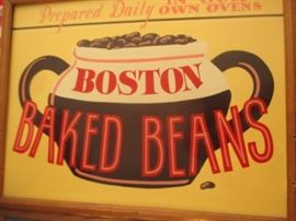 boston baked beans sign