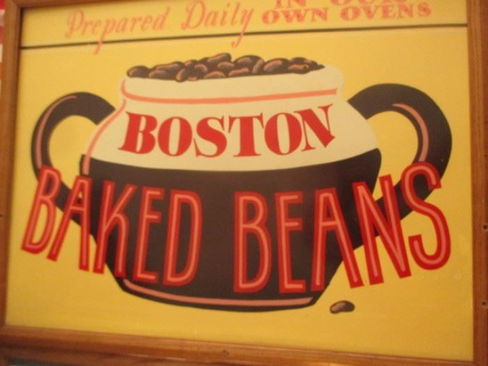 boston baked beans sign