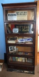 5 Section Gunn Laywer Bookcase with Drawer