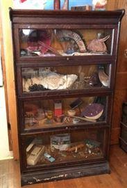 4 Section Gunn Lawyer Bookcase