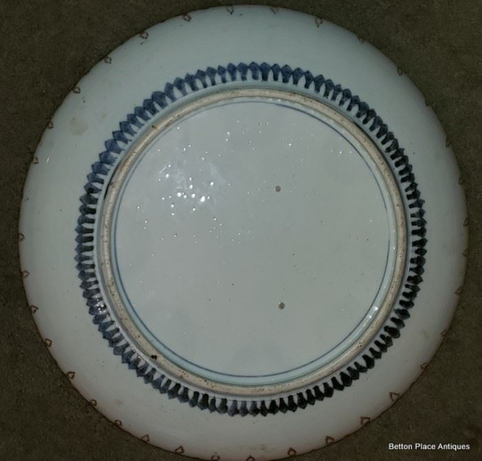Reverse of Previous Imari Charger