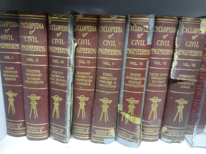 Volumes of Encyclopedia of Civil Engineering