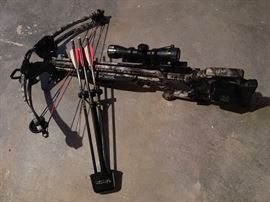 10 Point Titan SS Sniper Crossbow with Scope and Quiver, 3 Arrows