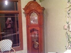 Howard Miller Grandfather Clock Collector's edition