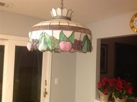 Stained glass lamp from Lydia's in Greenport