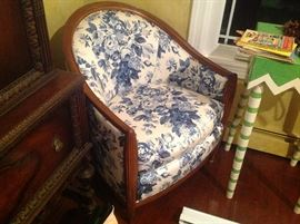 Barrel chair by Thomasville