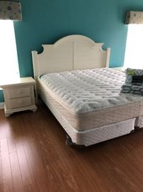 Beautiful white king bedroom set
